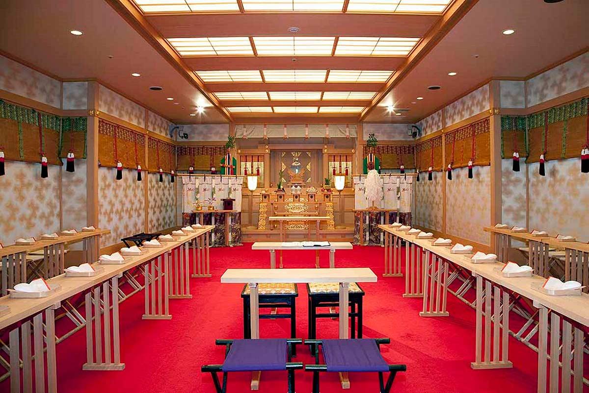 横浜ベイシェラトン ホテル&タワーズ - マリオット内神殿