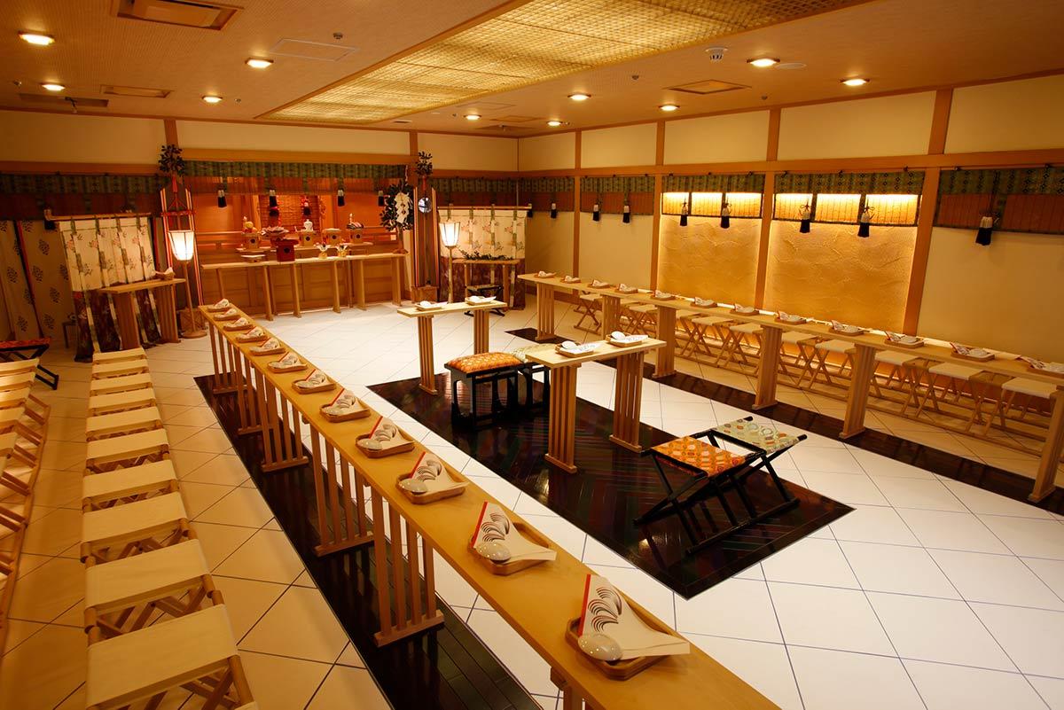 新横浜国際ホテル 神殿